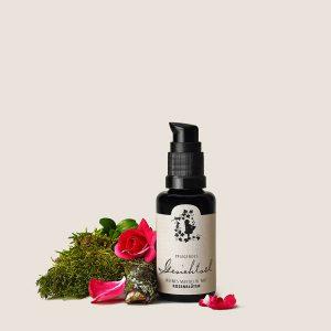 Gesichtsöl – reines Mandelöl mit Rosenblüten